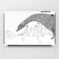 dragon iPad Cases featuring Dragon by Maureen Poignonec