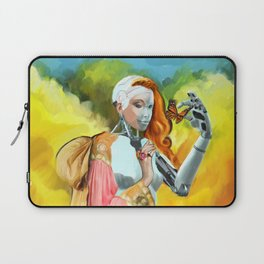 An Android in Nature Laptop Sleeve
