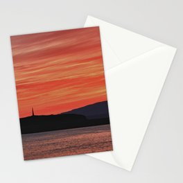 Sunset at Oban Bay Stationery Cards