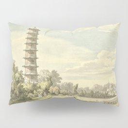 Pagoda at Kew Pillow Sham