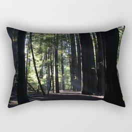 Sunrays in the Giants Rectangular Pillow