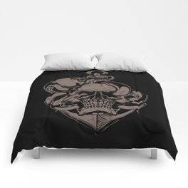Skull And Octopus | Heavy Metal Comforters