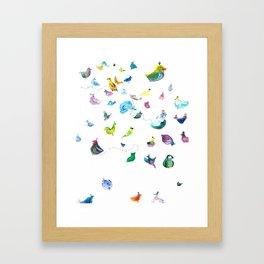 Chickens! Framed Art Print