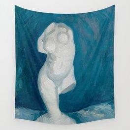 Van Gogh - Torso of Venus - One Leg Wall Tapestry