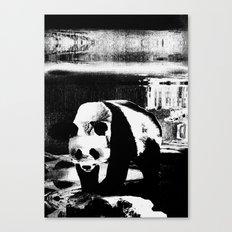 Shiro Kuro Canvas Print