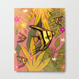 Angelfish #3 Metal Print
