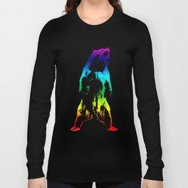 Rainbow Bear Long Sleeve T-shirt