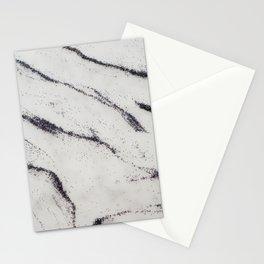 Marble Black Glitter Glam #1 #shiny #gem #decor #art #society6 Stationery Cards