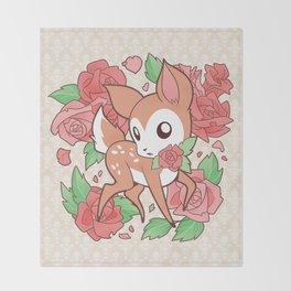 Oh My Deerling Throw Blanket