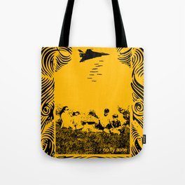 No fly zone. Tote Bag