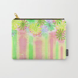 Pastel flower palette Carry-All Pouch