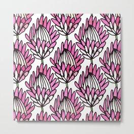 Protea Pink #homedecor Metal Print