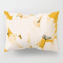 Flowers In Tangerine Pillow Sham
