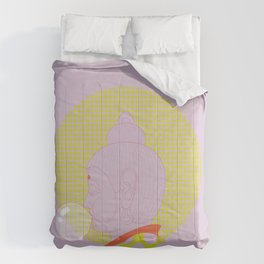 Buddha : Concentrate on the Void! (PopArtVersion) Comforters