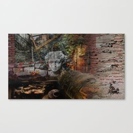 Sad, but true Canvas Print