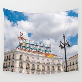 Puerta del Sol, Madrid Wall Tapestry