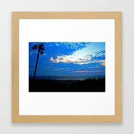 Sunrise on Fripp Island Framed Art Print