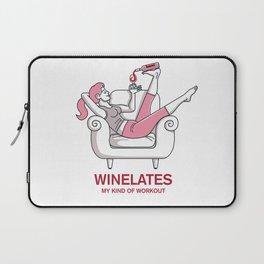 Winelates - my kind of workout Laptop Sleeve