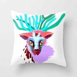 Forest Spirt Throw Pillow