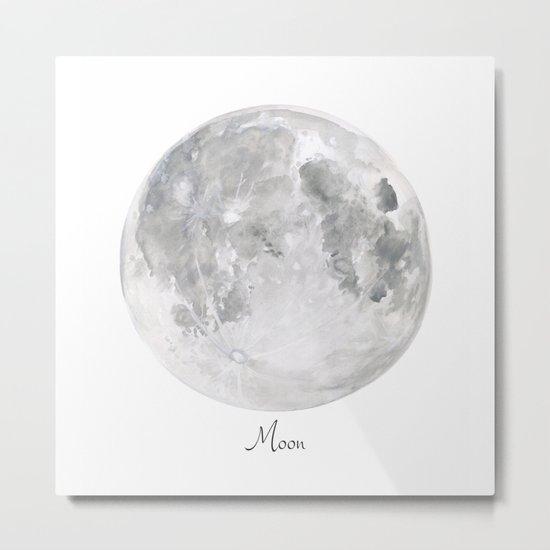 Moon planet Metal Print
