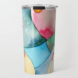 Bosque en azul Travel Mug