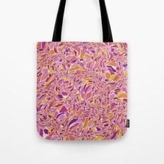 Trippy-Fiesta colorway Tote Bag