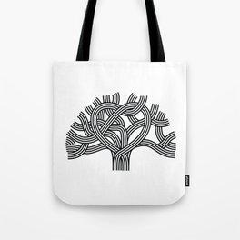 Oakland Love Tree (Black) Tote Bag