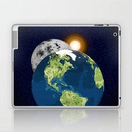 Earth Moon and Sun Laptop & iPad Skin