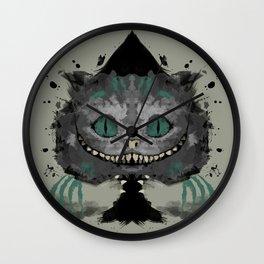 Cat of Spades Wall Clock