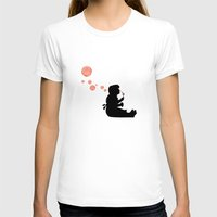 banksy T-shirts featuring Banksy Bubbles by DomaDART