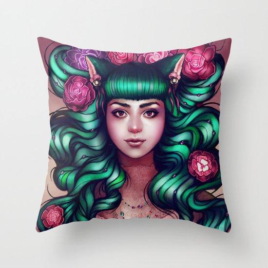 Delilah Throw Pillow