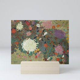 flower【Japanese painting】 Mini Art Print