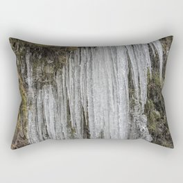 Icicles, No. 5 Rectangular Pillow