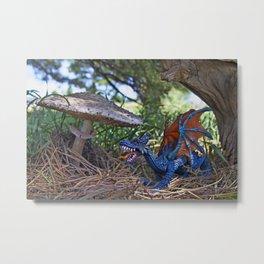 Dragon Sighting Metal Print