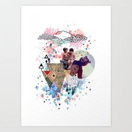 eramos niños Art Print