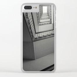 Spirals Clear iPhone Case