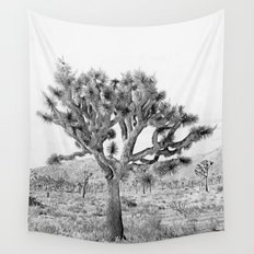 Joshua Tree Giant by CREYES Wall Tapestry