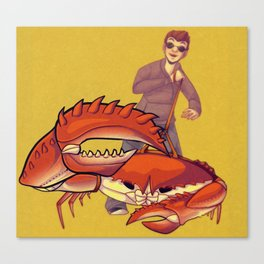The Crab Canvas Print