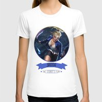 league of legends T-shirts featuring League Of Legends - Janna by TheDrawingDuo