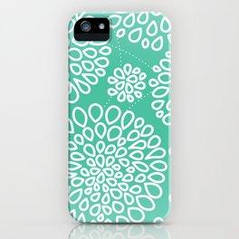 Peppermint Dandelions iPhone Case