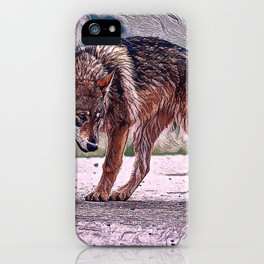 Wolf Pack Leader iPhone Case