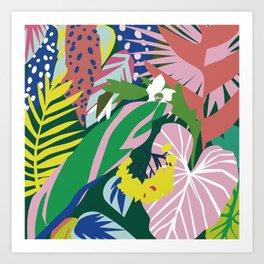 Lush Jungle Art Print