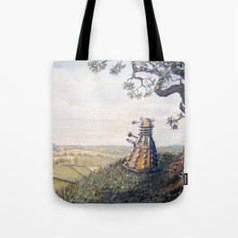 A rather Dalek afternoon Tote Bag
