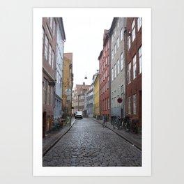 Copenhagen Street 3 Art Print