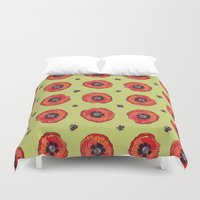 firefly Duvet Covers featuring Firefly by Cailee Corbett