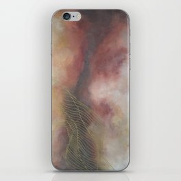 Golden Galaxy Tile iPhone Skin