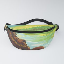 NASA Visions of the Future - Earth: Your Oasis in Space Fanny Pack