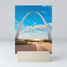 St. Louis Missouri arch Mini Art Print