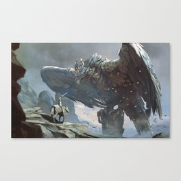 Shadow of the Colossus Canvas Print