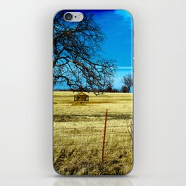 Along The Way In Clyde, Texas iPhone Skin